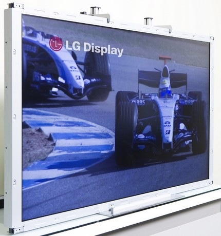 LG Trumotion 480Hz LCD TV Panel