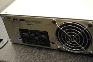 Peavey IPR 1600 inputs