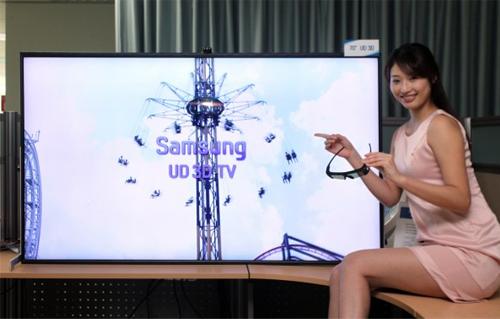 Samsung Displays Their 70-inch Ultra Definition 3D