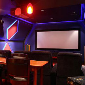 Sweet Home Theater Setups - The Geodesic Dome Home Theater | Advice