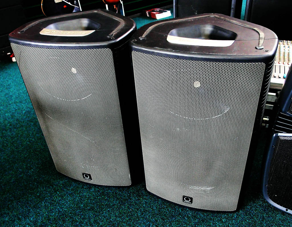 Turbosound Milan M15 loudspeakers