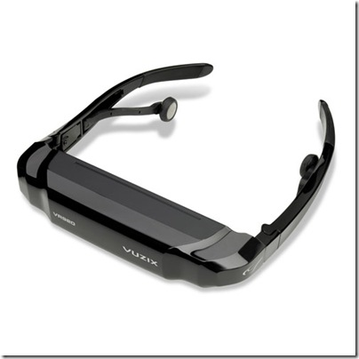 Vuzix IP230 iWear Virtual Theater Glasses for iPod