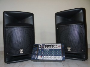 Yamaha STAGEPAS 500 Portable PA Speaker + Mixer System