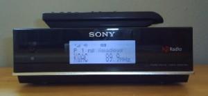 Sony XDR-F1HD FM HD Tuner front