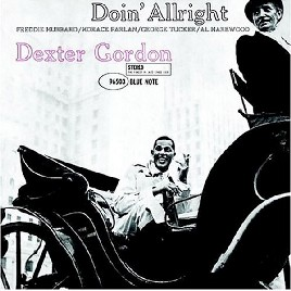 Dexter Gordon—Doin' Allright cover